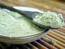 Полезные свойства зеленой глины
